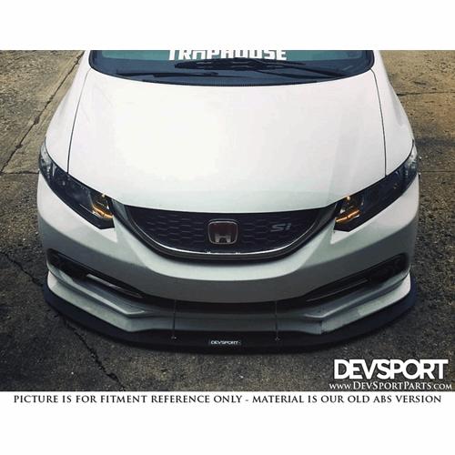 DevSport® Front Bumper Chin Splitter for 2012-2015 Honda Civic