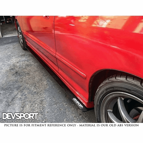 DevSport® Side Skirt Wind Splitters For 1994-2001 Acura