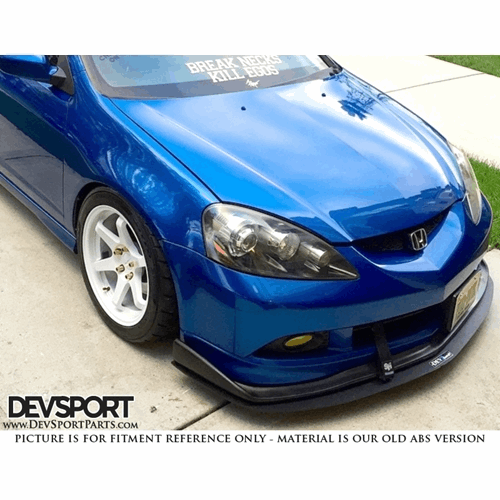 DevSport® Front Bumper Wind Splitter For 2002-2006 Acura
