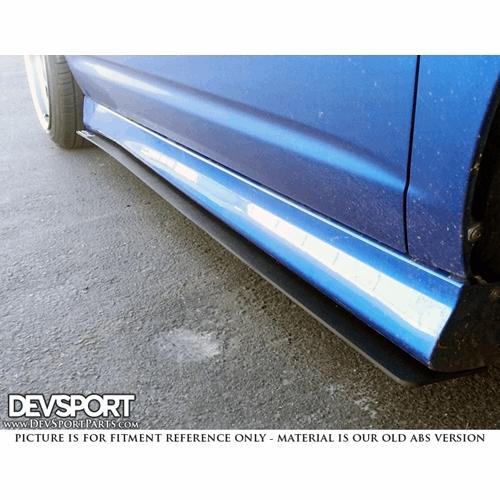 DevSport® Side Skirt Wind Splitters For 2002-2006 Acura